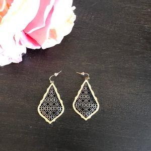 RARE Kendra Scott Adair Earrings (Large size)